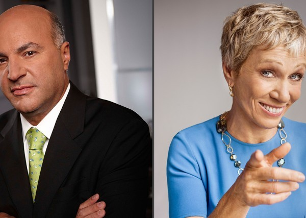 Shark Tank's Kevin O'Leary and Barbara Corcoran